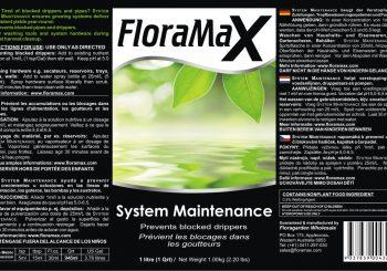 FloraMax System Maintenance
