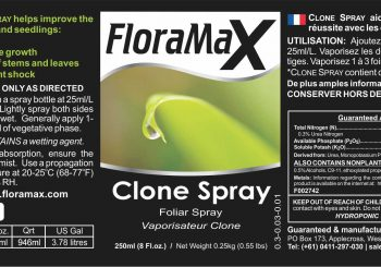 FloraMax Clone Spray